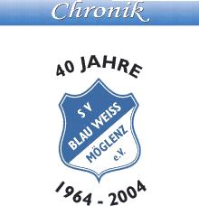 Chronik SV Blau Weiss Möglenz